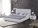 현대 실제적인 가죽 침대