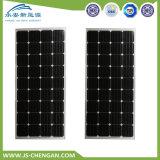 150W panneau solaire monocristallin de panneau mono du système solaire picovolte avec la CCE de la CE de support de consoles multiples du CEI de TUV