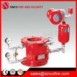 Válvula de alarma mojada vendedora caliente para el sistema de extinción de incendios por sumersión en lluvia automático