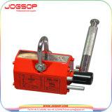 Imán de elevación del levantador de 600 kilogramos del alzamiento resistente magnético de acero de la grúa