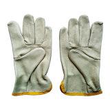 Перчатки работы кожи водителей руки техники безопасности на производстве зерна свиньи