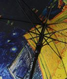 紫外線二重層は保護するまっすぐなフルカラーの印刷された傘(MP6021)を