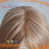 Тип 100% парика Handtied граници силикона полный Silk верхний передний парик