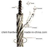 Collegare del filo di acciaio di Galv Rope/Gi/collegare obbligatorio galvanizzato