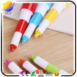 カスタムプラスチック引き込み式の丸薬ボールペン