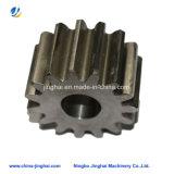 Piezas de engranaje de torneado CNC de cobre con rosca interior en herramientas / maquinaria