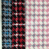 준비되어 있는 3 색깔 Houndstooth 검사 모직 직물