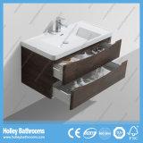 Vanidad caliente moderna del cuarto de baño de la venta con LED y 2 cajones (BF314D)