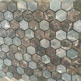 최신 인기 상품 육각형 대리석 도와 돌 모자이크 바닥 도와