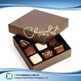 Caixa de empacotamento de couro do presente do Valentim para o chocolate dos doces da jóia (XC-fbc-014)