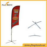 Anunciando a bandeira de praia portátil da impressão de alumínio de Digitas/bandeira do vôo