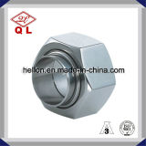 Tuerca hexagonal sanitaria de la instalación de tuberías de acero inoxidable