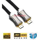 Ethernet de alta velocidad 3D 4k de los soportes y cable del arco HDMI