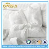 Peignoir confortable personnalisé de tissu de gaufre de modèle de logo