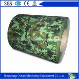 Soldado enrollado en el ejército galvanizado prepintado/PPGI/PPGL para el material de construcción y el material de material para techos