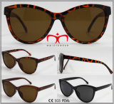 Óculos de sol plásticos de venda quentes elegantes da proteção UV400 (WSP609693)
