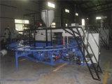 Dois deslizadores de sopro do ar do PVC da cor que fazem a máquina