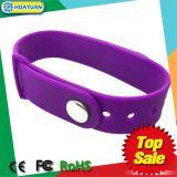 bracelet intelligent classique de bracelet de l'IDENTIFICATION RF 1K de 13.56MHz MIFARE