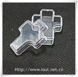 مستديرة يشكّل أكريليكيّ بلاستيكيّة سبحة صندوق ([إيو-ب015])