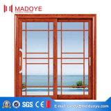 Раздвижная дверь стекла рамки европейского типа алюминиевая