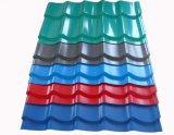 Prepintado cubrir perfiles/los azulejos de azotea esmaltados paso de progresión del color