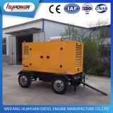30 kW de espera de bajo ruido Generador Cummins Remolque con buen precio
