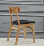 Hot Sales Moderna silla de café de madera al aire libre con madera sólida