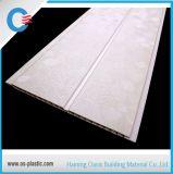 Os painéis médios do PVC do sulco do tamanho 25cm laminaram o painel de parede decorativo do teto do PVC do projeto