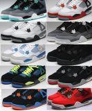 Rétro 4 chaussures de basket-ball d'espadrilles de femmes d'hommes d'incendie de premier air