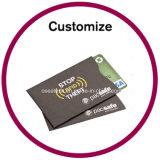 Luvas plásticas feitas sob encomenda do cartão de crédito