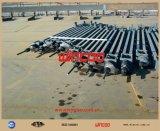 Construção do tanque dos jaques hidráulicos do projeto de Fgd que levanta o sistema