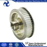 Polia de sincronização de anodização clara para máquina CNC