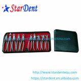 Fórceps dental del diente del acero inoxidable del instrumento quirúrgico (10PCS/set)