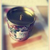 2016 velas perfumadas de la soja del nuevo diseño en tarro del caramelo