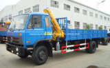 6 tonnes 7 tonnes de grue montée par camion 8 tonnes de camion de grue à vendre