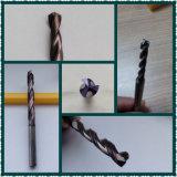 2 de Bits van de Boor van het Carbide van het Wolfram van de fluit voor Van gehard staal