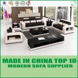 Sofa sectionnel de bureau de cuir véritable de Dubaï