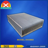 Aleación de aluminio Coolling Air 6063 Heatsink for Broadcasting Communication