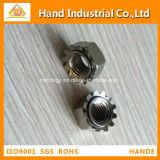 """Precio de fábrica de acero inoxidable A4-80 1/4 """" ~5/8 """" tuerca de fijación de K"""