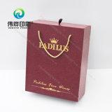 Коробка уникально причудливый бумажного питья подарка вина печатание упаковывая (с горячий штемпелевать)