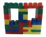 子供の教育おもちゃ40PCSのプラスチックブロック