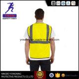 Fluorescente Weerspiegelende Veiligheid vest-Y7123 En20471