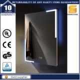 O UL Certificated espelho leve iluminado diodo emissor de luz fixado na parede do banheiro