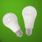 Luz de bulbo quente 5W do diodo emissor de luz do osso de Alumimium da venda 7 W 9W