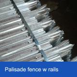 [بفك] يكسى [بليسد] سياج, لون [بليسد] يسيّج لأنّ أمن, مسلوقة طلية [بليسد] فولاذ سياج