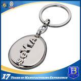 Trousseau de clés en alliage de zinc personnalisé pour la promotion (Ele-K060)