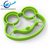 Форма лягушки шаржа ягнится кольцо яичка силикона DIY