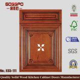 Porte d'armoires de cuisine en acajou moderne 2017 (GSP5-027)