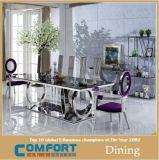 큰 천막 유리 A8068를 가진 현대 디자인 식탁