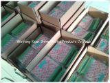 Plastic Zak van de Ritssluiting van pvc van de Grootte van de douane de Duidelijke